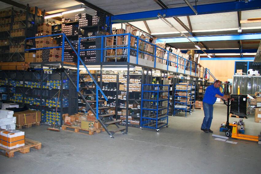 voorraadbeheer functie van het Erp softwarepakket voor de technische groothandel