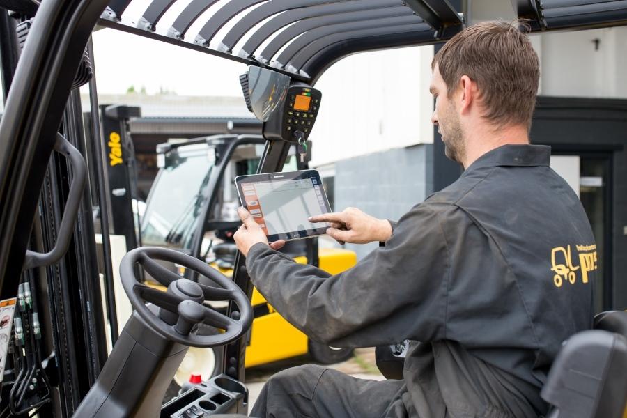 Digitale werkbon app software voor de buitendienst